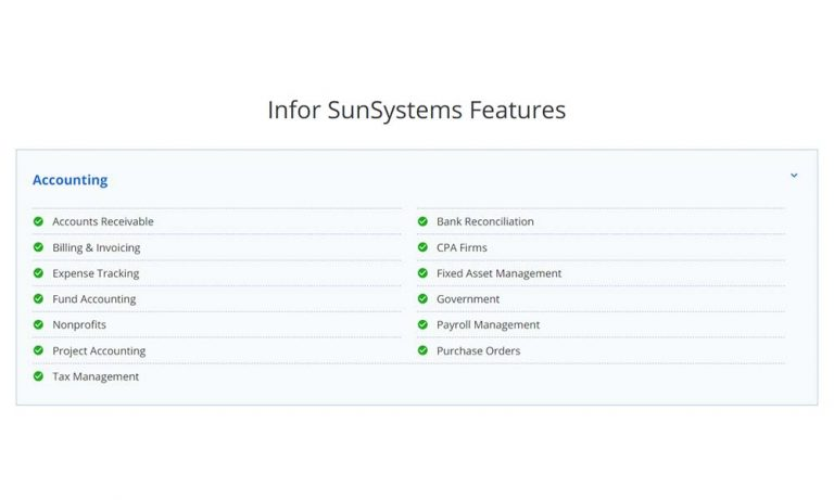 What is Infor SunSystems and what can it do for your business