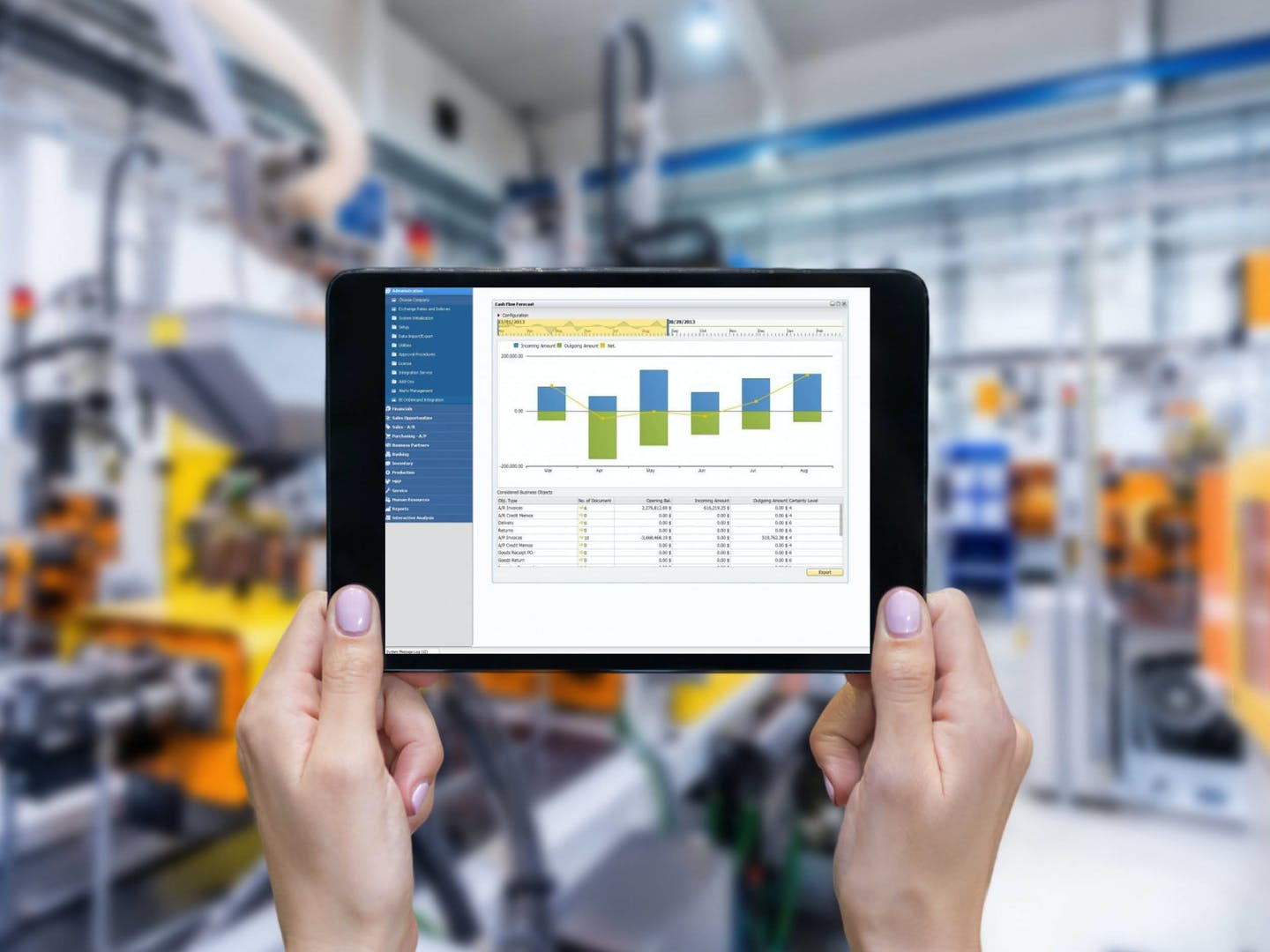 Infor Manufacturing ERP Software